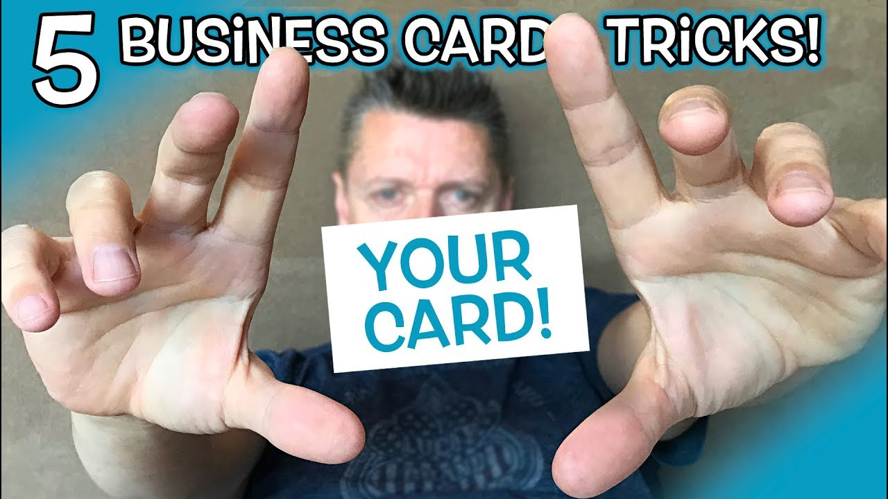 5 ways to give out your business card like a badass youtube 5 ways to give out your business card like a badass colourmoves