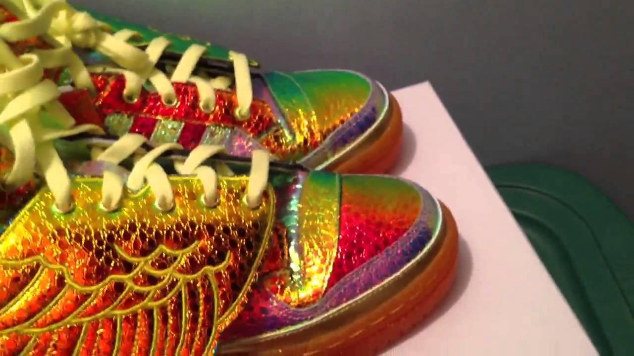 Jeremy Scott Foil Wings Shoes
