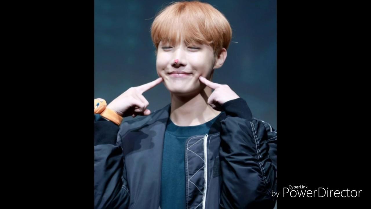 BTS J Hope Dimples