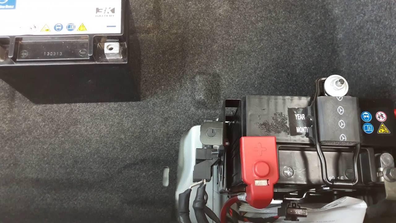 mercedes benz w 212 facelift backup batterie gest rrt s. Black Bedroom Furniture Sets. Home Design Ideas