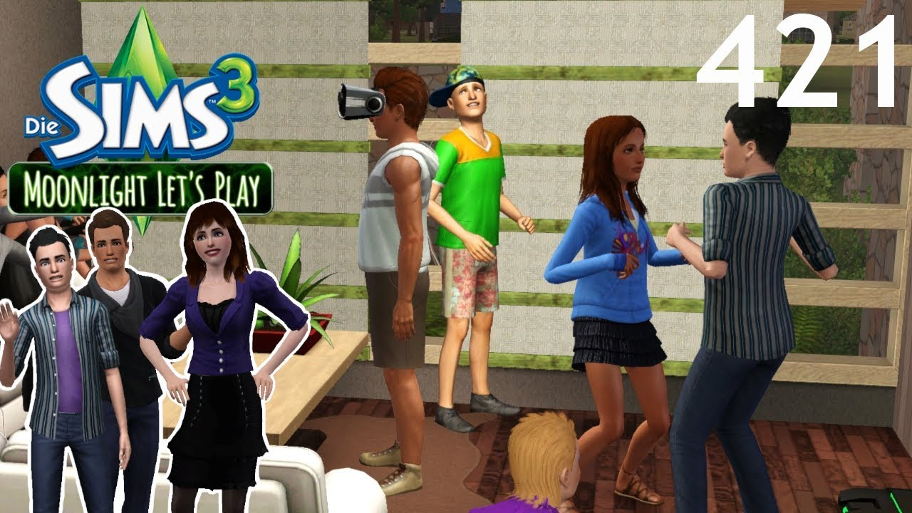 Alle Anderen 2009 moonlight lp: ryan & stella - #421 cliquen-treffen [let's play die sims 3 |  deutsch]