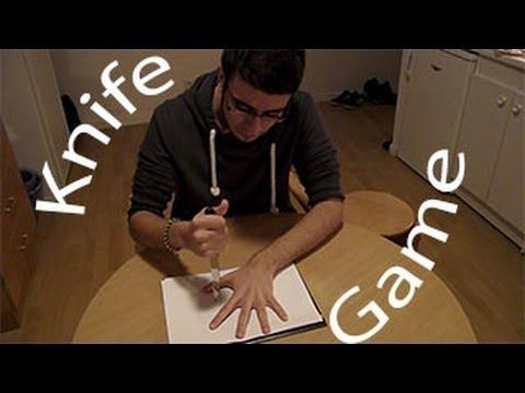 The Knife Song Game [HD 720p] + Lyrics / Five Finger Fillet