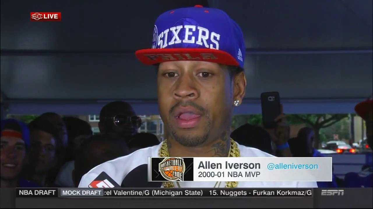 Allen Iverson discusses Ben Simmons Philadelphia the NBA Finals