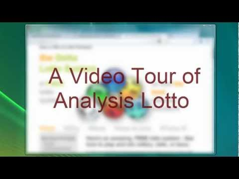 Analysis Lotto Software Demo