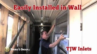 TJW Gravity Wall Inlets Replace BIL Inlets