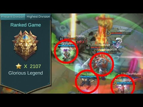 Best Players Showing of Some Epic Teamwork! Mobile Legends