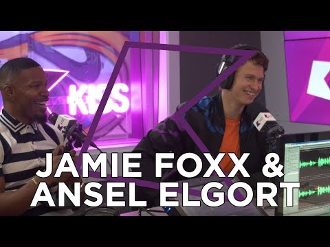 Jamie Foxx and Ansel Elgort talk Baby Driver, Kanye West, Frank Ocean & more!