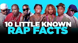 10 little known rap facts