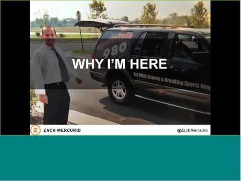 Alumni Webinar Zach Mercurio '06  MORE THAN A RESOLUTION HOW TO AWAKEN YOUR PURPOSE IN 2017 20170119