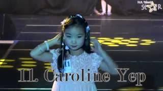 11. Caroline Yep  :  HK TALENT STAR MODEL CONTEST & STAGEKIDS 2016