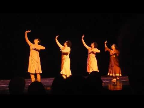 Indian dance group Kadamb (September 2016 in Belgrade)