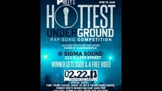 Philly\'s Hottest Underground Rapper Competition 2/22/13