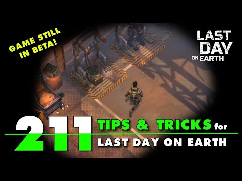 211 Tips and Tricks for Last Day on Earth Survival Update LDOE Tips