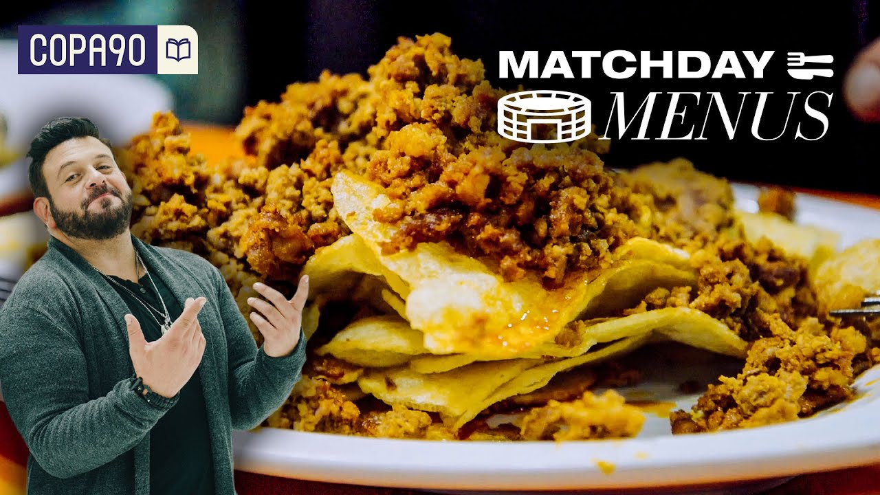 Limbs, Lamb and Loyal Fans - Asturian Derby | Matchday Menus with Adam Richman