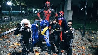 Deadpool Celebrates Halloween & New Movie Details