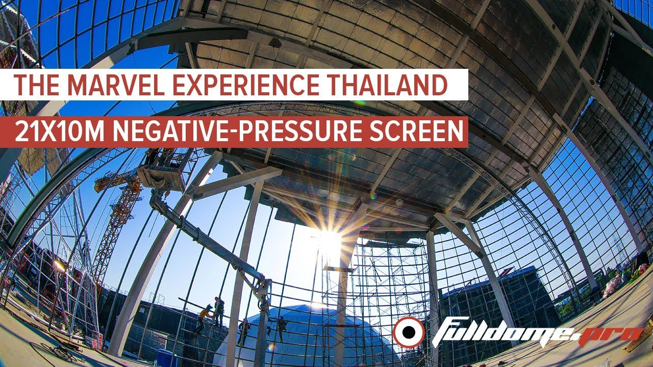 4D Dome Cinema for Marvel Experience in Bangkok