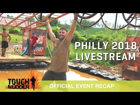 WATCH LIVE: Tough Mudder Philly 2018 Mud Obstacle Course Race | Tough Mudder