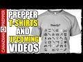 California SHTF Series and Prepper T-Shirts