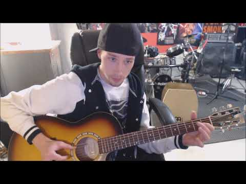 How to Play Fingerstyle Eminem Mockingbird on Acoustic Guitar
