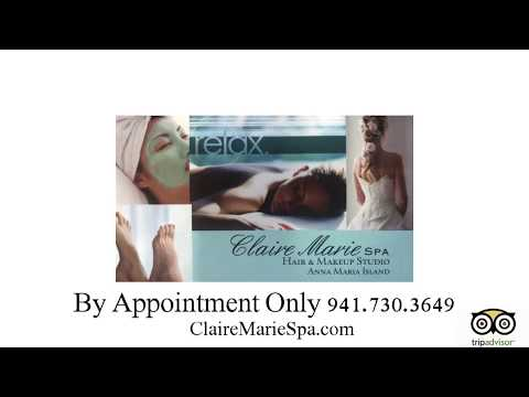 Claire Marie Spa Video Business Card