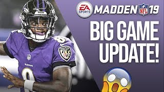 EA Just Changed Madden 19 ONCE AGAIN....Another Big Title Update