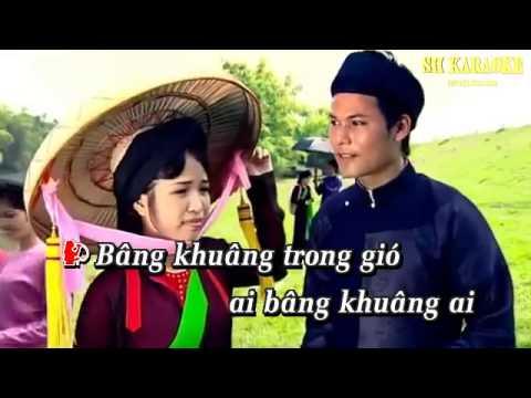[Karaoke HD] Tìm em trong chiều Hội Lim - Trong Tấn & Tân Nhàn - YouTube_2