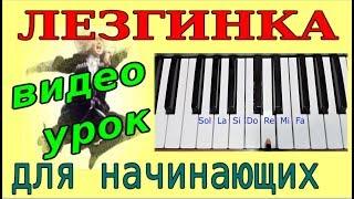 ЛЕЗГИНКА~Урок по обучению на синтезаторе-фортепиано-Ля минор