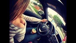 Девушки за рулём! не для слабонервных!