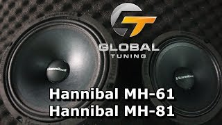 Новые СЧ динамики Hannibal MH-81; MH-61