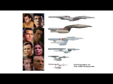 Thumbnail: Commanders of the Federation Starship Enterprise 2245-2372