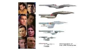 Commanders of the Federation Starship Enterprise 2245-2372