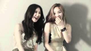 SNSD TaeTiSeo TTS : Elle Girl BTS