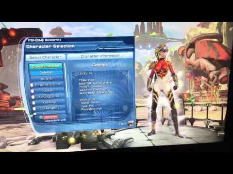 Dc universe online How To delete characters/game