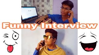 Funny Interview Video In Hindi || Short Video Clip || Full Comedy Video || The Mafias