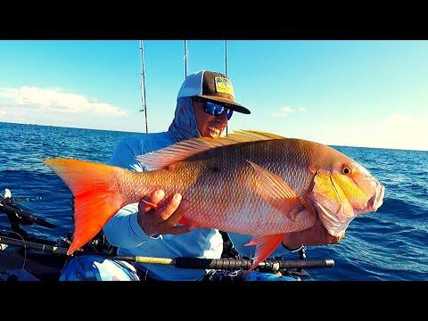 FISHING  The REEFS Of DANIA Looking For MUTTON SNAPPER, DANIA BEACH KAYAK FISHING , FLORIDA FISHING