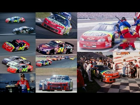 All 7 of Jeff Gordon's Wins in 1999 (Finishes) Jeff Gordon E