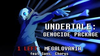Undertale Genocide Package Megalovania