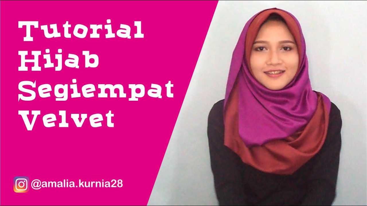 Model Hijab Velvet Modelhijab44