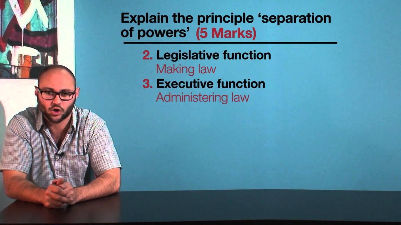a study of the separation of powers Separation of powers quite the same wikipedia just better he deduced from a study of the english constitutional system the advantages of dividing political power into the legislative (which should be distributed among several bodies, for example, the house of lords and the house of.