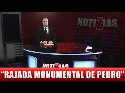NOTIZIAS | RAJADA MONUMENTAL DE PEDRO RODRÍGUEZ