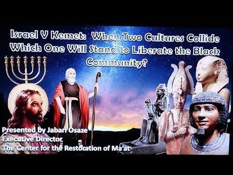 Divine Prospect And Brother Jabari - Israel Vs.  Kemet : What Happens When 2 World Really Collide?