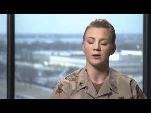 Hospital Corpsman in the U.S. Navy