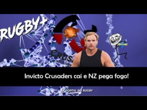 VÍDEO: Invicto Crusaders cai e Nova Zelândia pega fogo!