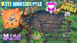 🔴 FORTNITE LV.71 SHOPPING CART! WIN 10TH BATTLE PASS! FROM 1pm WITH DONATORS!!