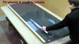 MIRROR DOOR ASSEMBLY