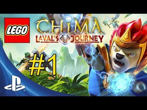 LEGO Legends of Chima Lavals Journey {PS Vita} Walkthrough Part 1 — Introduction & Spiral Mountain