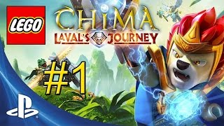 LEGO Legends of Chima Laval's Journey {PS Vita} Walkthrough Part 1 — Introduction & Spiral Mountain