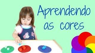 Atividades para crianças de 2 anos | APRENDENDO AS CORES