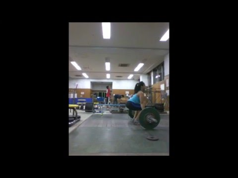 Powercleans (Okinawa Dec 2013)