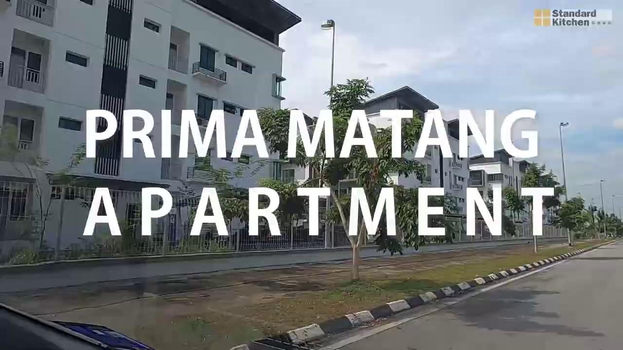Prima Matang Kitchen Cabinet Standard Kitchen Youtube